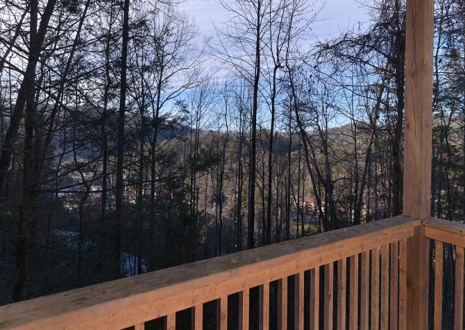 Gatlinburg The Vinson Deck View