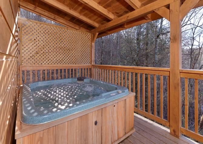 Gatlinburg The Vinson Hot Tub