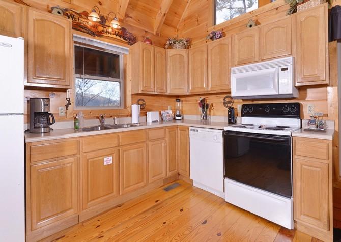 Gatlinburg The Vinson Kitchen