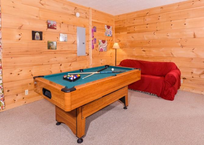 Gatlinburg The Vinson Recreation Room
