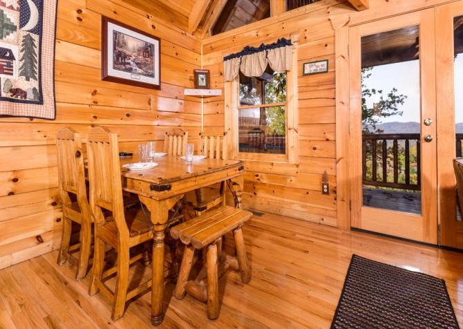Gatlinburg Tree Tops Dining Room