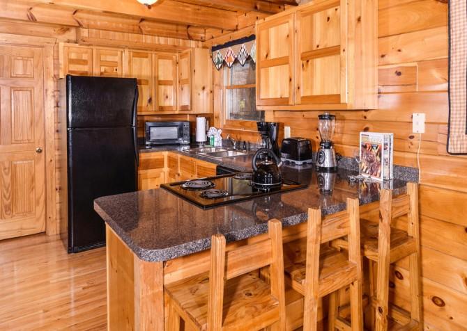 Gatlinburg Tree Tops Kitchen