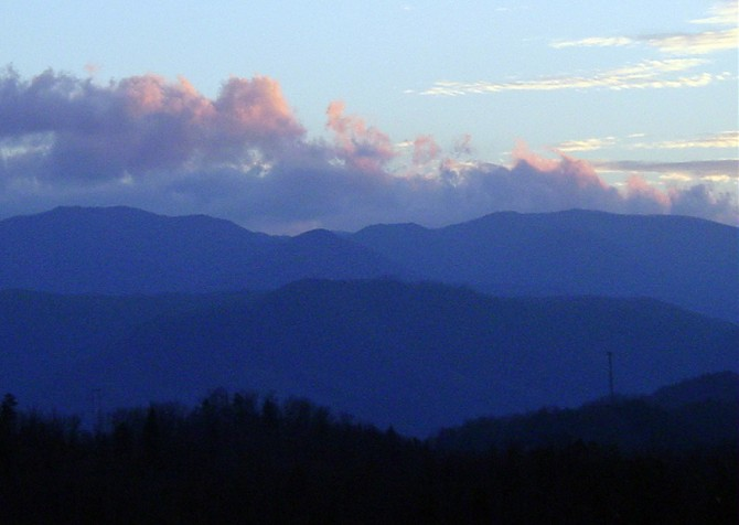 Gatlinburg- Mountain Glory - view