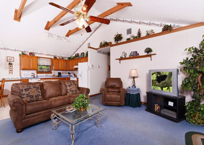 Pigeon- Forge - Mountain Paradise- living room