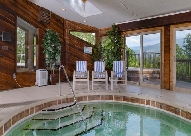 Gatlinburg - Panorama Point - Pool Seating