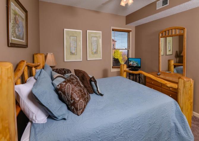 Gatlinburg - Sky High - Bedroom One TV