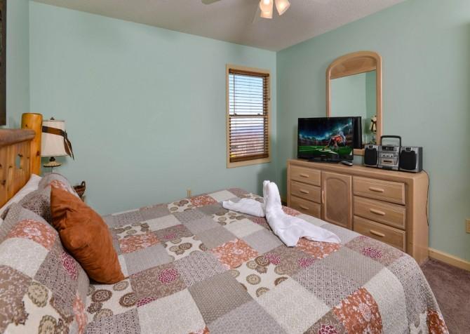Gatlinburg - Sky High - Bedroom Three TV
