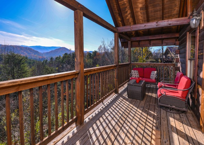 Pigeon Forge - Edge of Paradise - Outdoor Seating