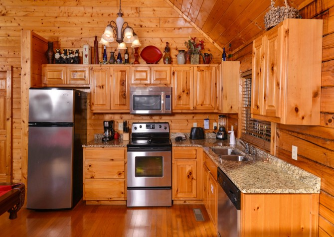 Pigeon Forge - Edge of Paradise - Kitchen Appliances