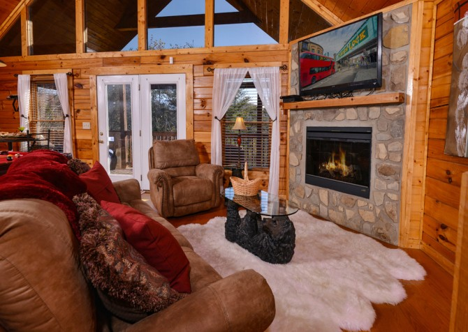 Pigeon Forge - Edge of Paradise - Living Seating