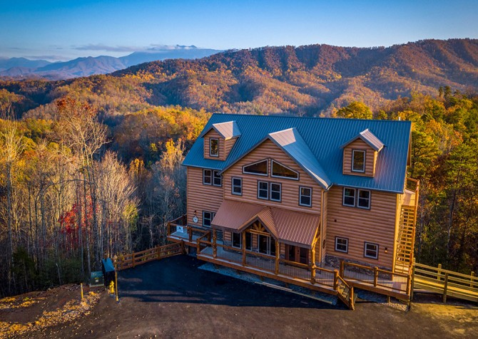 Pigeon Forge Mountview Paradise