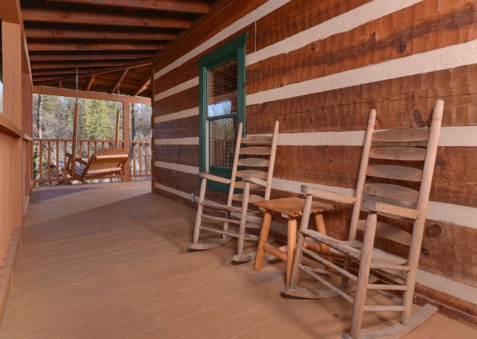 Pigeon Forge - A Sweet Retreat - Deck Rockers