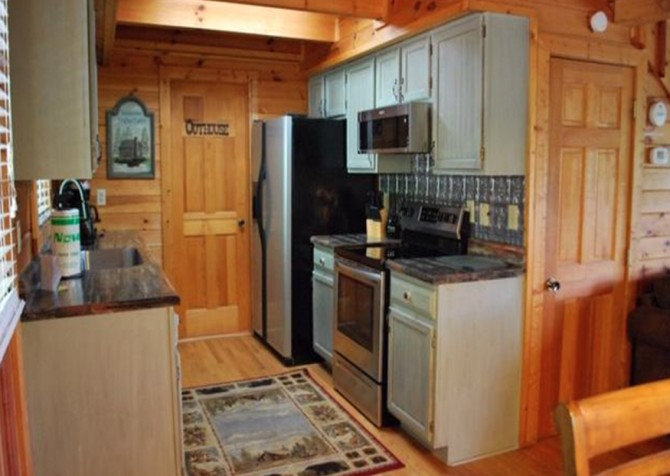 Pigeon Forge - A Walk in the Clouds - Kitchen Temp