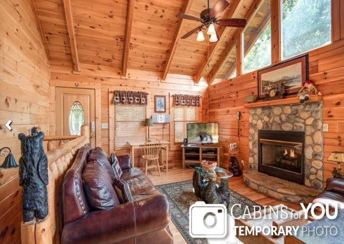 Pigeon Forge - Absolutely Perfect - Living Room Temp