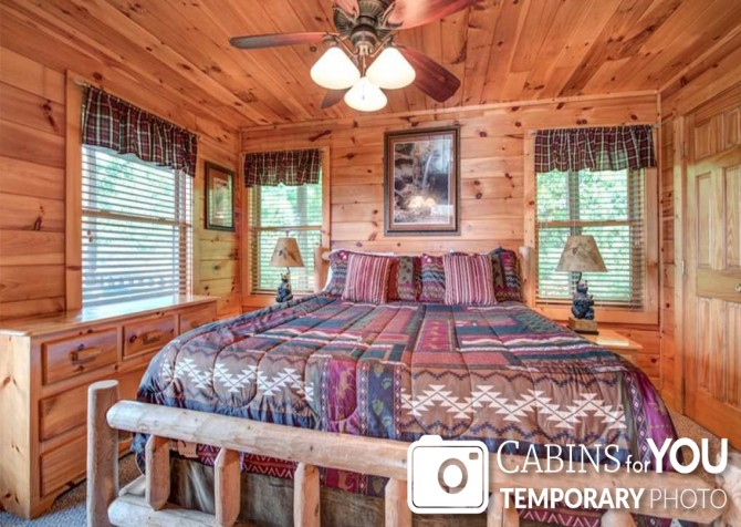 Pigeon Forge - Absolutely Perfect - Bedroom Temp