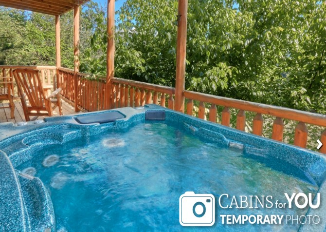Pigeon Forge - Absolutely Perfect - Hot Tub Temp