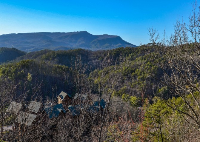 Pigeon Forge Cabin- It's All Good – View