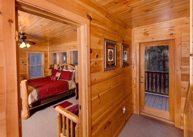Pigeon Forge Cabin- Be Our Guest – Bedroom 2