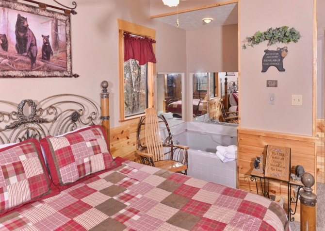 Pigeon forge cabins bear end - 7 bedroom cabins in pigeon forge ...