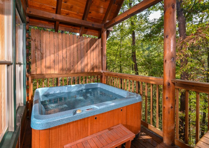 Pigeon Forge - Bear Footin' - Hot Tub