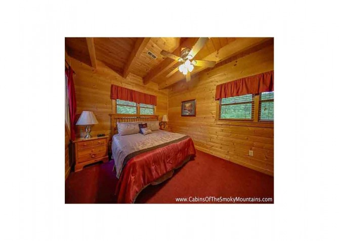 Pigeon Forge - Bear View - Bedroom Temp