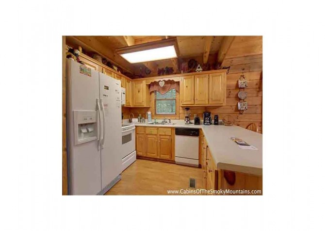 Pigeon Forge - Bear View - Kitchen Temp