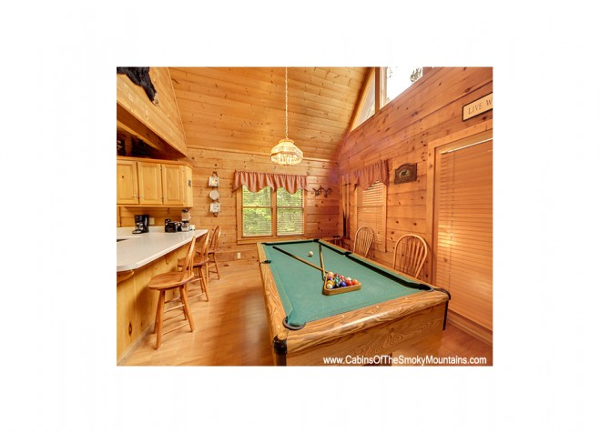 Pigeon Forge - Bear View - Rec Room Temp
