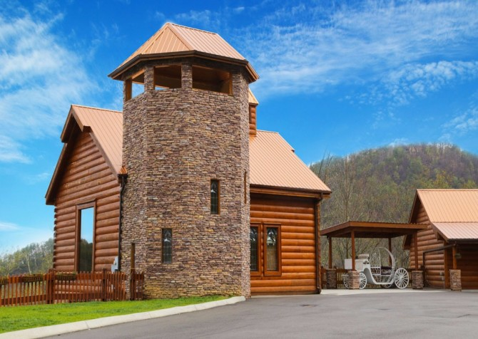 Pigeon Forge Cabin - Bearway To Heaven - Resort Chapel