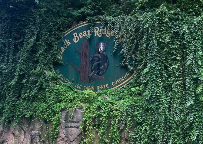 Pigeon Forge Cabin - Bearway To Heaven - Resort Sign