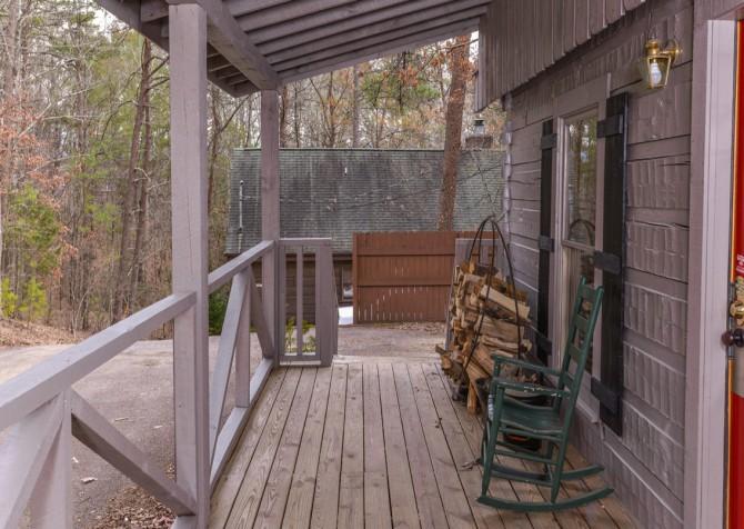 pigeon forge cabin - a secret romance - exterior