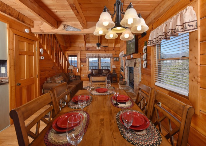 Pigeon Forge - A Walk in the Clouds - Kitchen