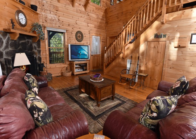 Pigeon Forge - Almost Home - Living Room