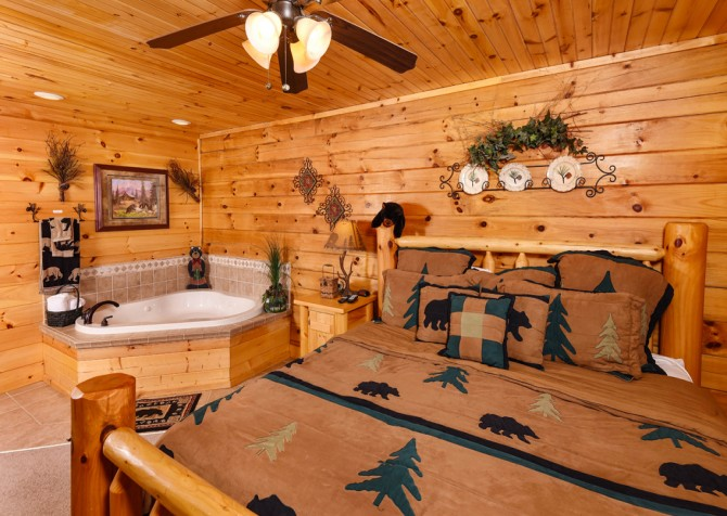 Pigeon Forge - Bear Crossing -  Bedroom One