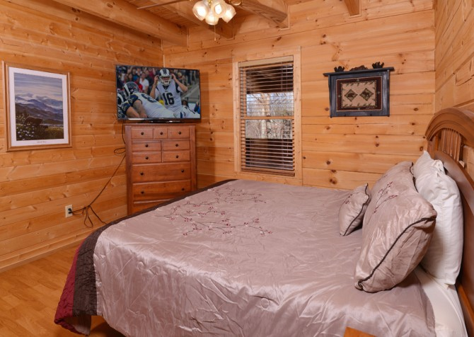 Pigeon Forge - Bear View - Bedroom