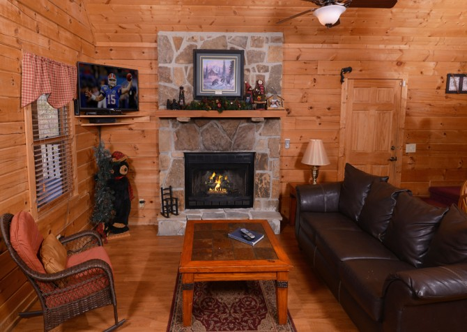 Pigeon Forge - Bear View - Living room