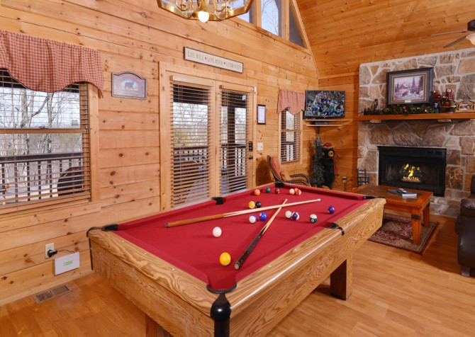 Pigeon Forge - Bear View - Rec Room