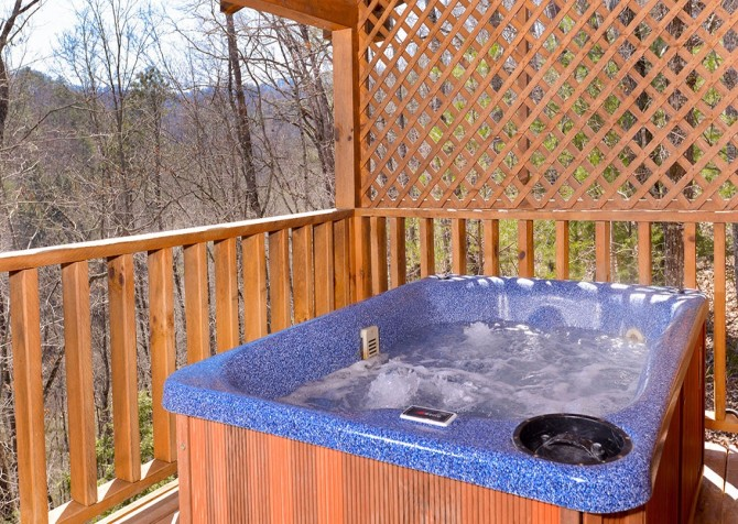 pigeon forge cabin – big chill– exterior
