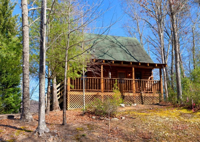 pigeon forge cabin – big chill– view