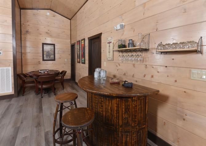 Pigeon Forge Cabin - Big Forest Lodge -  Rec Room