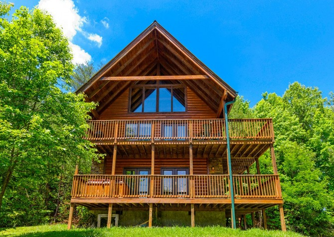 pigeon forge cabin – brink of paradise – overview