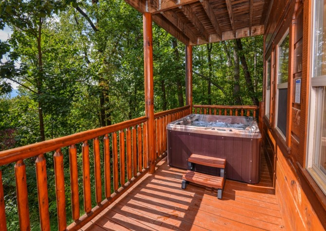 pigeon forge cabin – buckskin lodge – exterior