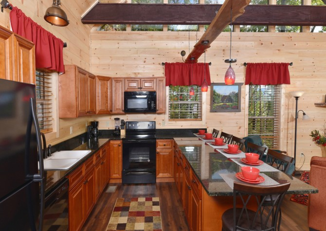 Pigeon Forge - Close Beside Me - Kitchen