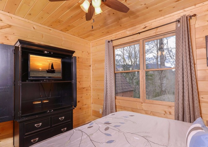 Pigeon Forge cabin - Copper River - Bedroom