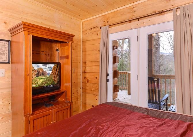Pigeon Forge cabin - Copper River - Bedroom