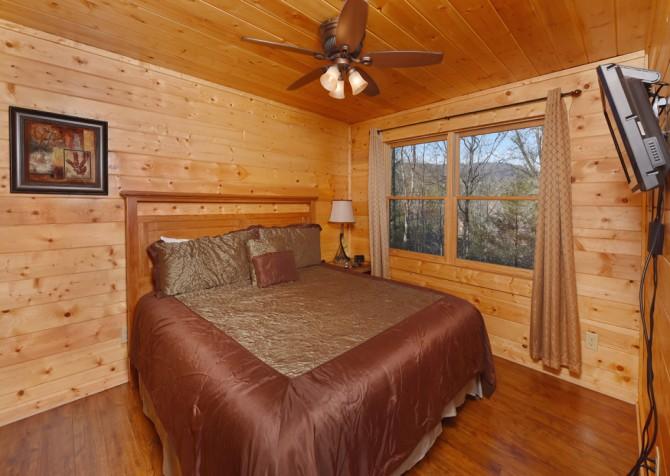 Pigeon Forge - Copper River - Bedroom