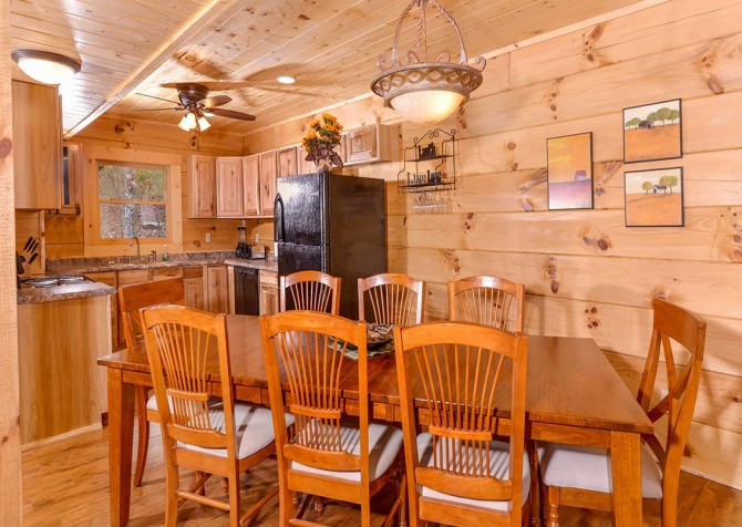 Pigeon Forge cabin - Copper River - Kitchen