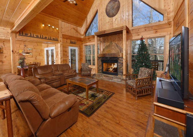 Pigeon Forge - Copper River - Living Room