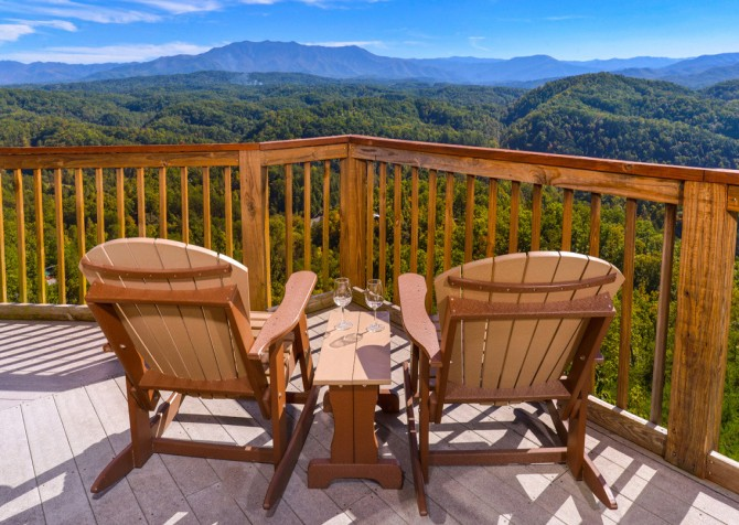 pigeon forge cabin – crestview lodge – exterior