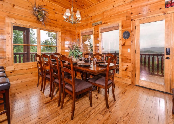 pigeon forge cabin – deer leap – kitchen