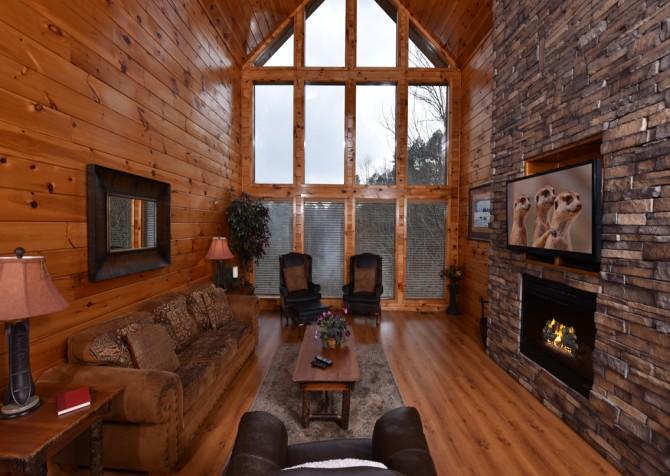 Pigeon Forge - Dream Catcher Spirit - Living Room